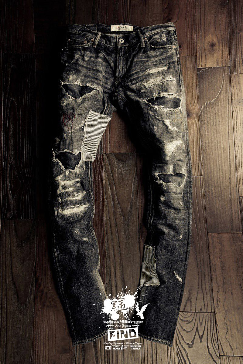 *FIND x Fundamental:黑匠 Crossover Fitter Denim Jeans 1